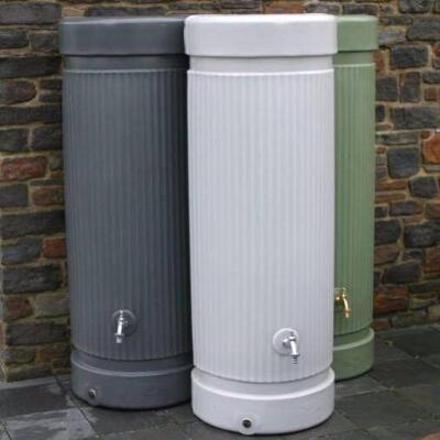 Column Water Butt – 300 & 500 Litres